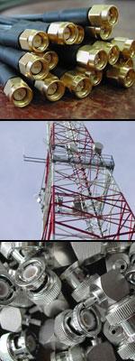 Koaxialstecker Antennen Sensormesskabel